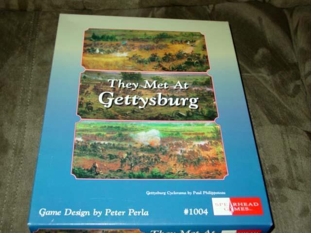 Spearhead giocos 1996 - Civil War - They  Met At Gettysburg gioco (UNPUNCHED)  sconto di vendita