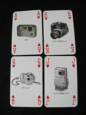 c2004 PACK DECK of ADVERTISING NON STANDARD PLAYING CARDS - FUJIFILM CAMERAS