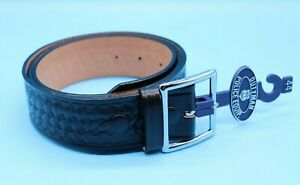 Boston Leather 1 3//4 Garrison Belt 6505-3-44B