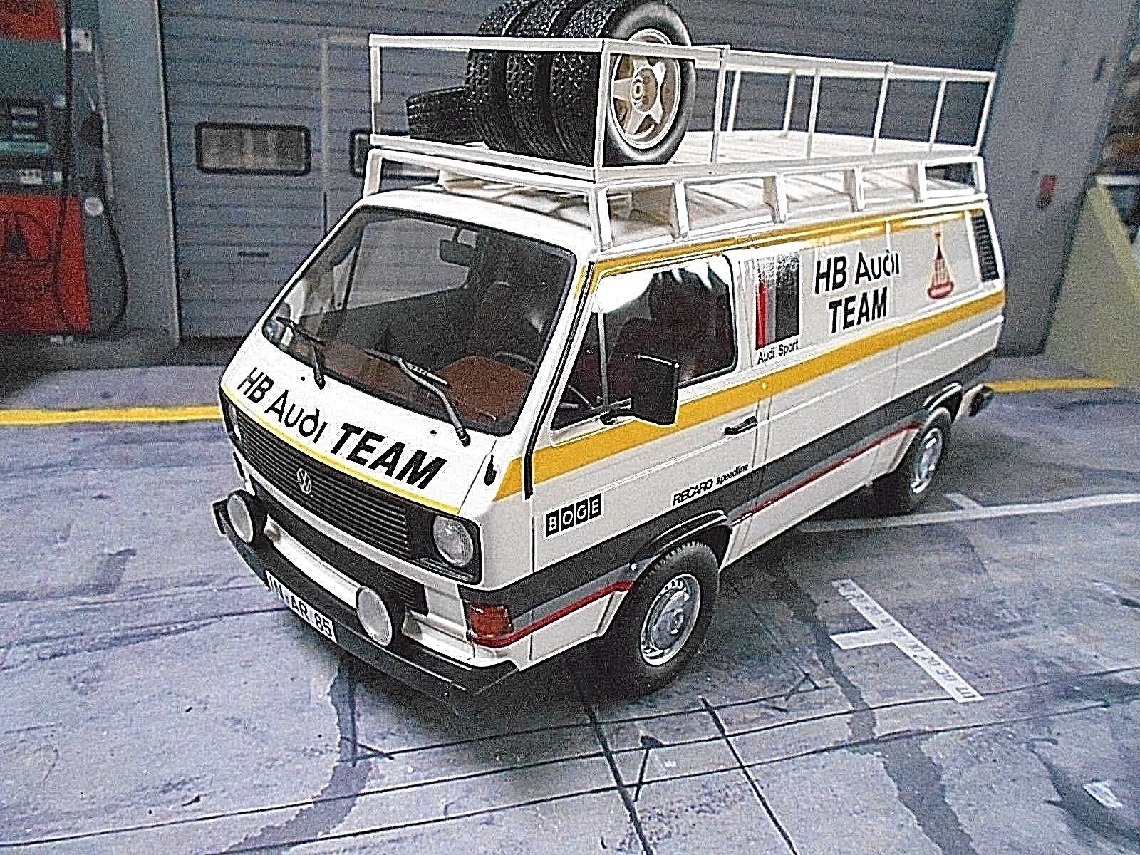 VW VW VW Volkswagen Bus T3 AUDI Motorsport Rallye Service HB Van Premiu Classixxs 1 18 36ada1