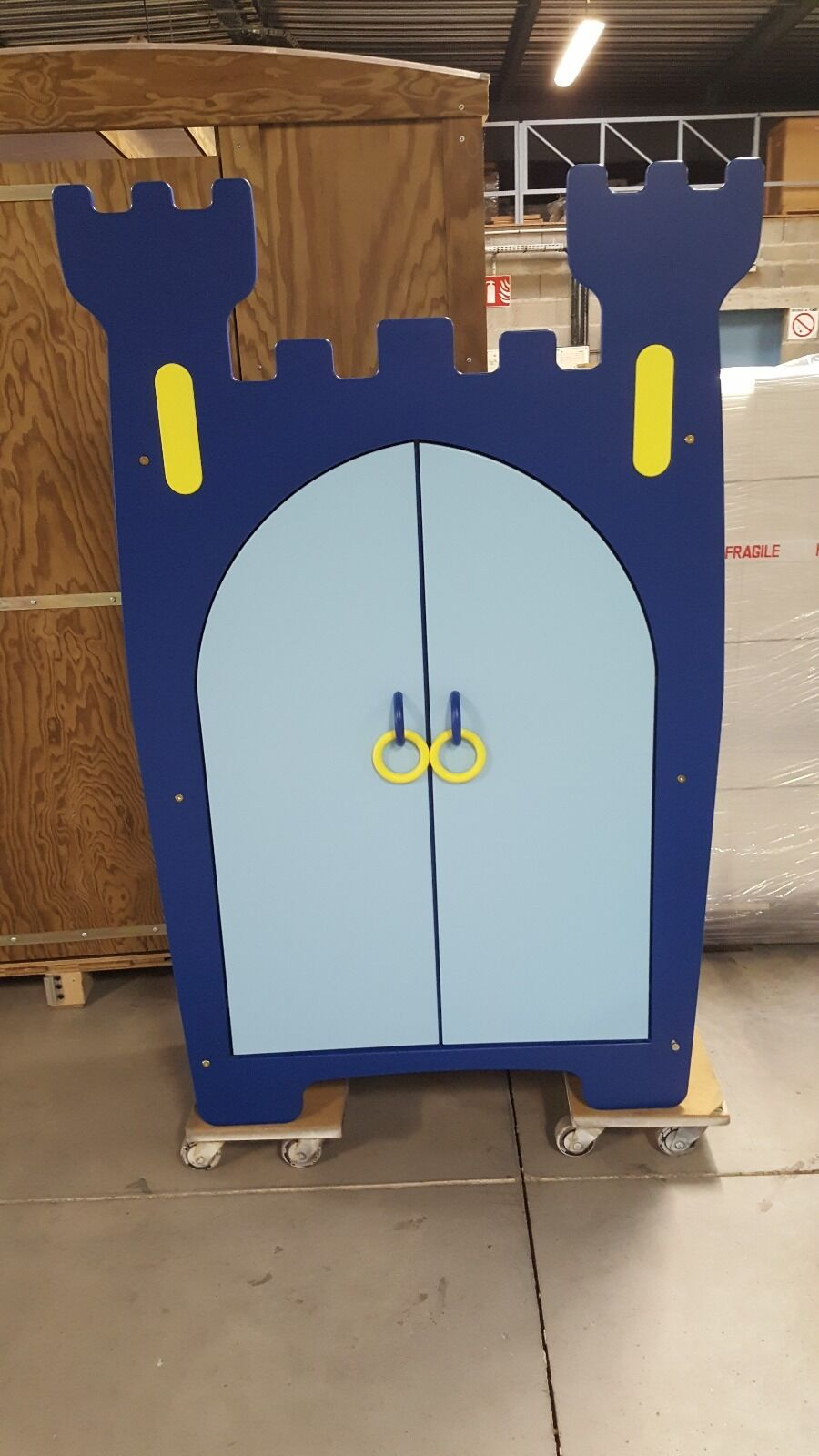 Armoire 2 portes pour chambre enfant   Prince Charmant