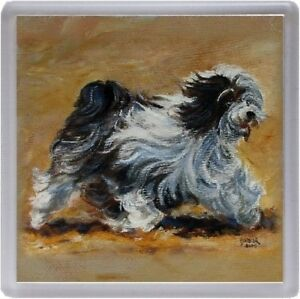 Tibetan-Terrier-Dog-Coaster-No10SH-by-Starprint-from-a-painting-by-Susan-Harper