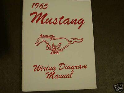 1965 Ford Mustang Wiring Diagram Manual