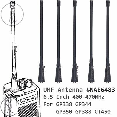 UHF Antenna For motorola PTX600 PTX700 PTX760 GP360 GP380 GP388 walkie talkie