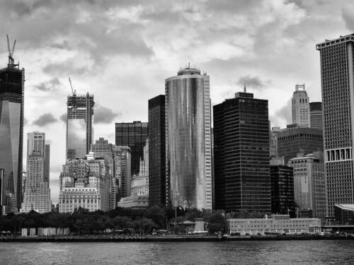 PHOTO NEW YOK SKYLINE BLACK /& WHITE LARGE WALL ART PRINT POSTER PICTURE LF2292