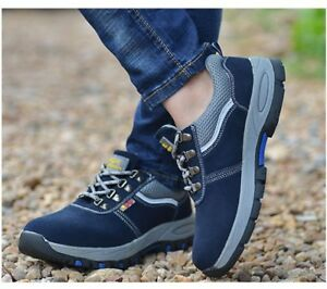 Work Boots Steel Toe Cap Safety Shoes