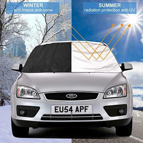 Auto Frontscheibenabdeckung Windschutzscheibe Sonnen Schutz Snow Frost Winter HS