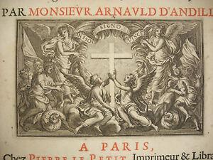Brillant Flavius Joseph : Histoire Des Juifs 1667 Antiquitez Judaiques History Of The Jew Doux Et Doux