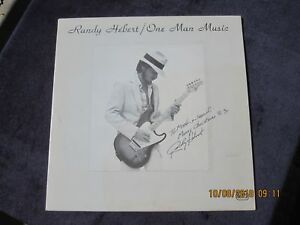 RARE-PRIVATE-PRESS-RANDY-HERBERT-ONE-MAN-MUSIC-VINYL-LP-SIGNED-FUNK-SOUL