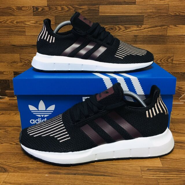 *NEW* Adidas Swift Run (Women's Size 9.5) Athletic Sneaker Shoe Black Purple