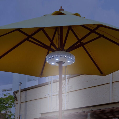 Draussen drahtloser 28LED 3Mode Patio Umbrella Pole Light Camping Zelt Lampe