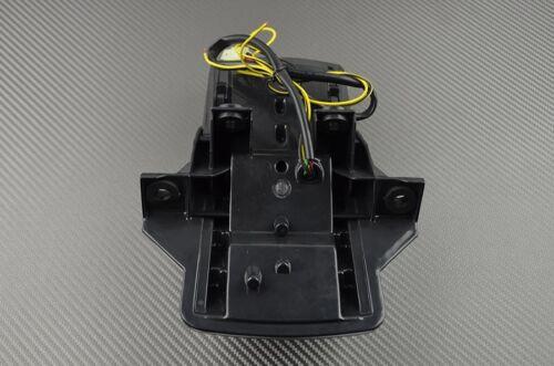 Feu arrière stop LED clair clignotants intégrés Suzuki SV SVS 650 2003-2011