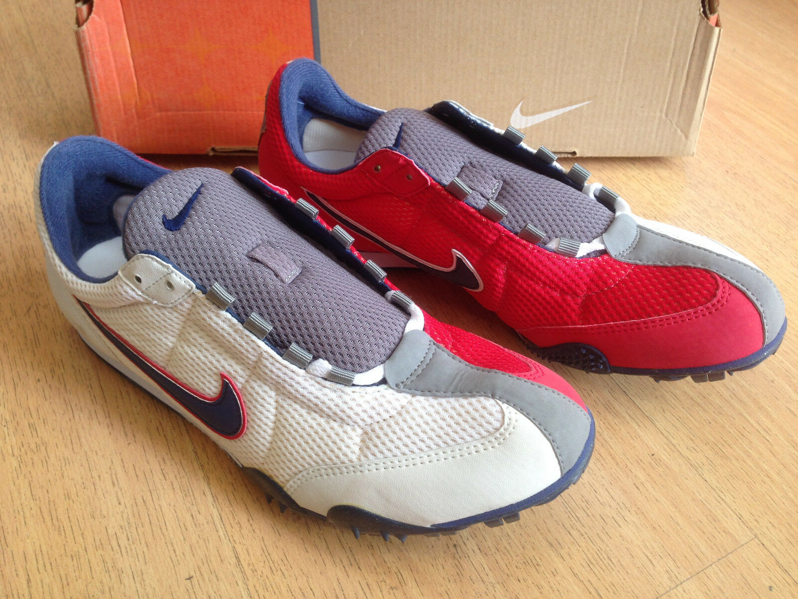 OG 2002 Nike 150 Rival Zoom Rival 150 D III track & field spikes sneakers size US10 UK9!!! 7d1236