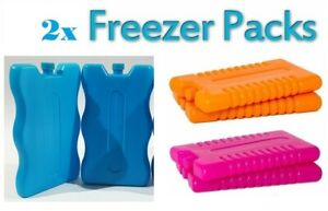 Freezer Ice Blocks Travel Cooler Bag Box Reusable Picnic Pack Lunch Camping