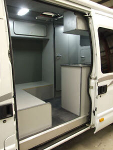 IVECO MX KART MOTOCROSS VAN CAMPERVAN CONVERSION PART BUILD RACE