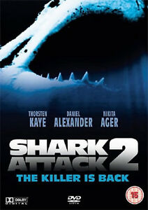 SHARK ATTACK PART 2  II DVD 2nd Second MOVIE FILM Two Original UK Release R2