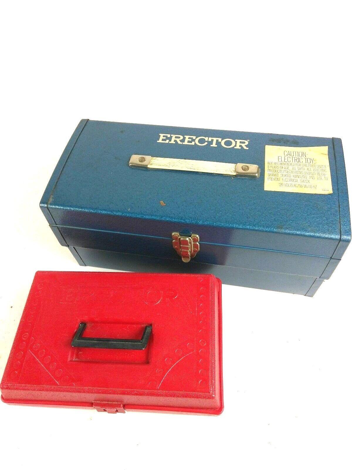 Enorme Lote de colección de Gilberts Erector Set - 16 libras total-motor-Excelente Estado