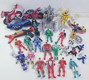 POWER-RANGER-Bandai-Figure-Bundle-JOB-LOTTO-ENORME-Misto-Toys-anni-2000