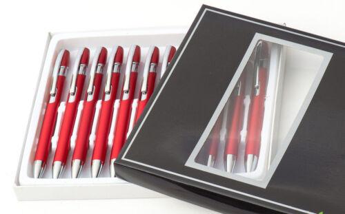 12st Metall kugelschreiber Wunschgravur GRATIS Metallkugelschreiber Gravur neu