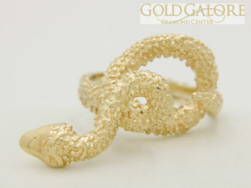 14k Vintage Snake Ring