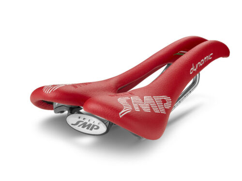 Selle SMP  Dynamic Bicycle Saddle Seat Made in Italy Red