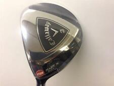 NEW MENS CALLAWAY RAZR X BLACK 3 WOOD 15 DEG STIFF GRAPHITE LEFT HAND