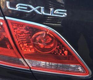 Lexus Es330 2005 2006 Left Driver Oem Backup Tail Light 81590 33101 Ebay