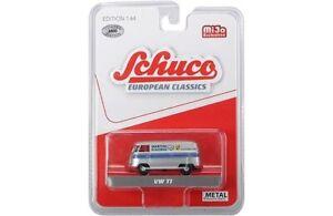 Schuco-8400-European-Classics-1-64-Volkswagen-T1-Panel-Martini-Racing-Silver