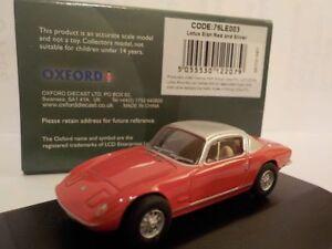 Lotus-Elan-Red-Model-Cars-Oxford-Diecast