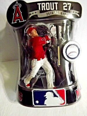 """LOS ANGELES ANGELS MIKE TROUT 6/"""" IMPORTS DRAGON FIGURE"""