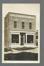 Fredericksburg IOWA RP c1910 GENERAL STORE Main Street nr New Hampton West Union
