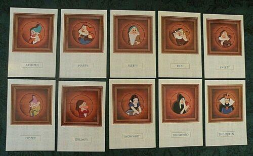 "10 NEW 4/"" X 6/"" Postcards Disney SNOW WHITE /& SEVEN DWARFS POSTCARD Set of"