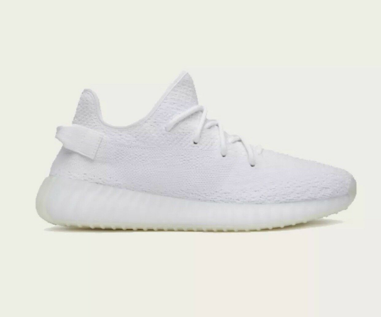 Adidas Yeezy Boost 350 V2 Triple White by Kayne West Size 10 US New Production