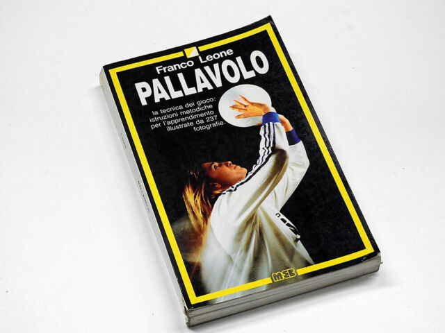 PALLAVOLO - MUZZIO 1988 -FRANCO LEONE
