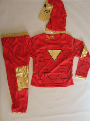COSPLAY IRONMAN CLASSIC Kids Costumes Sizes 2-10 BRAND NEW Dressup Parties etc