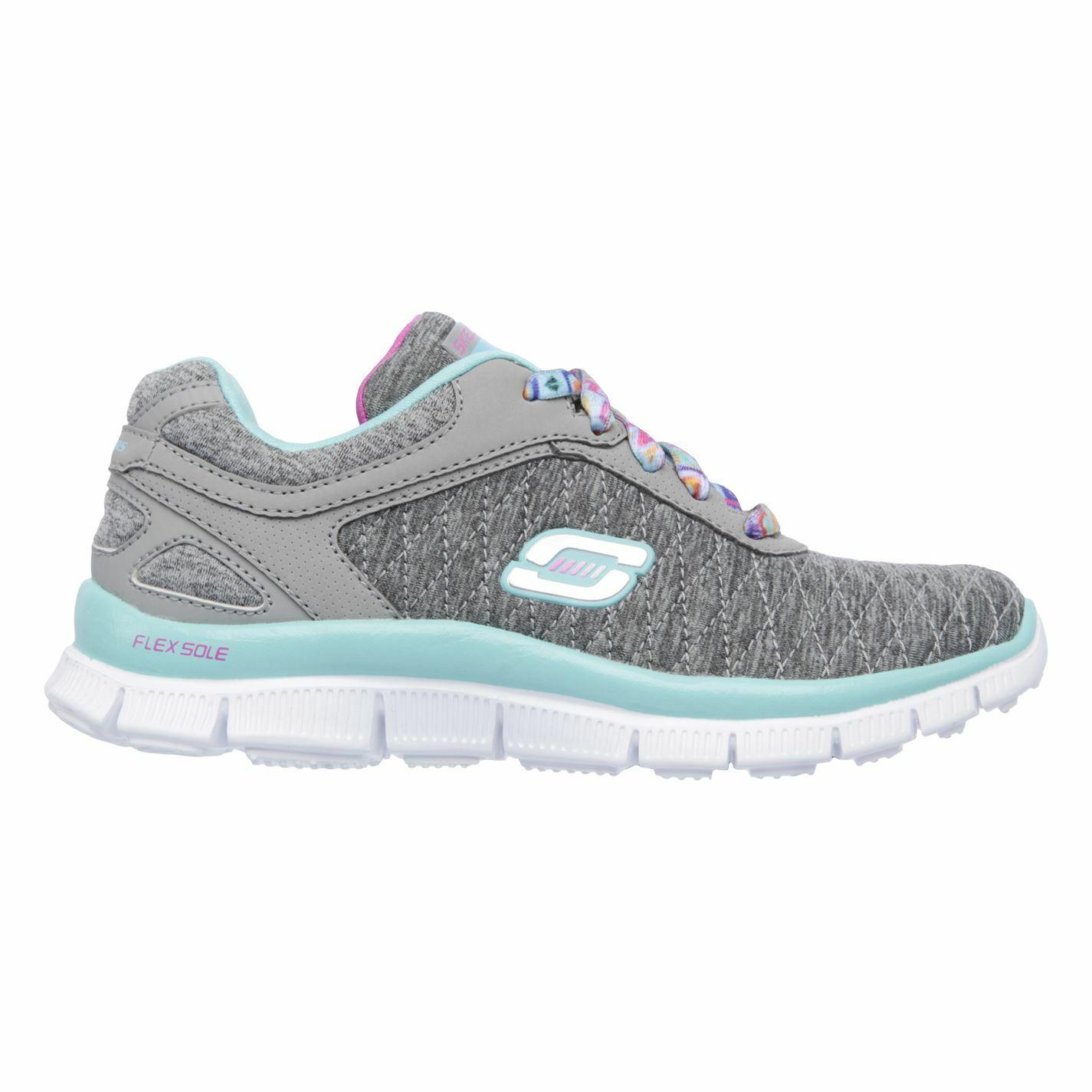 Skechers Appeal EC  Youngster Girls zapatillas Runners zapatos Laces Fastened  Garantía 100% de ajuste