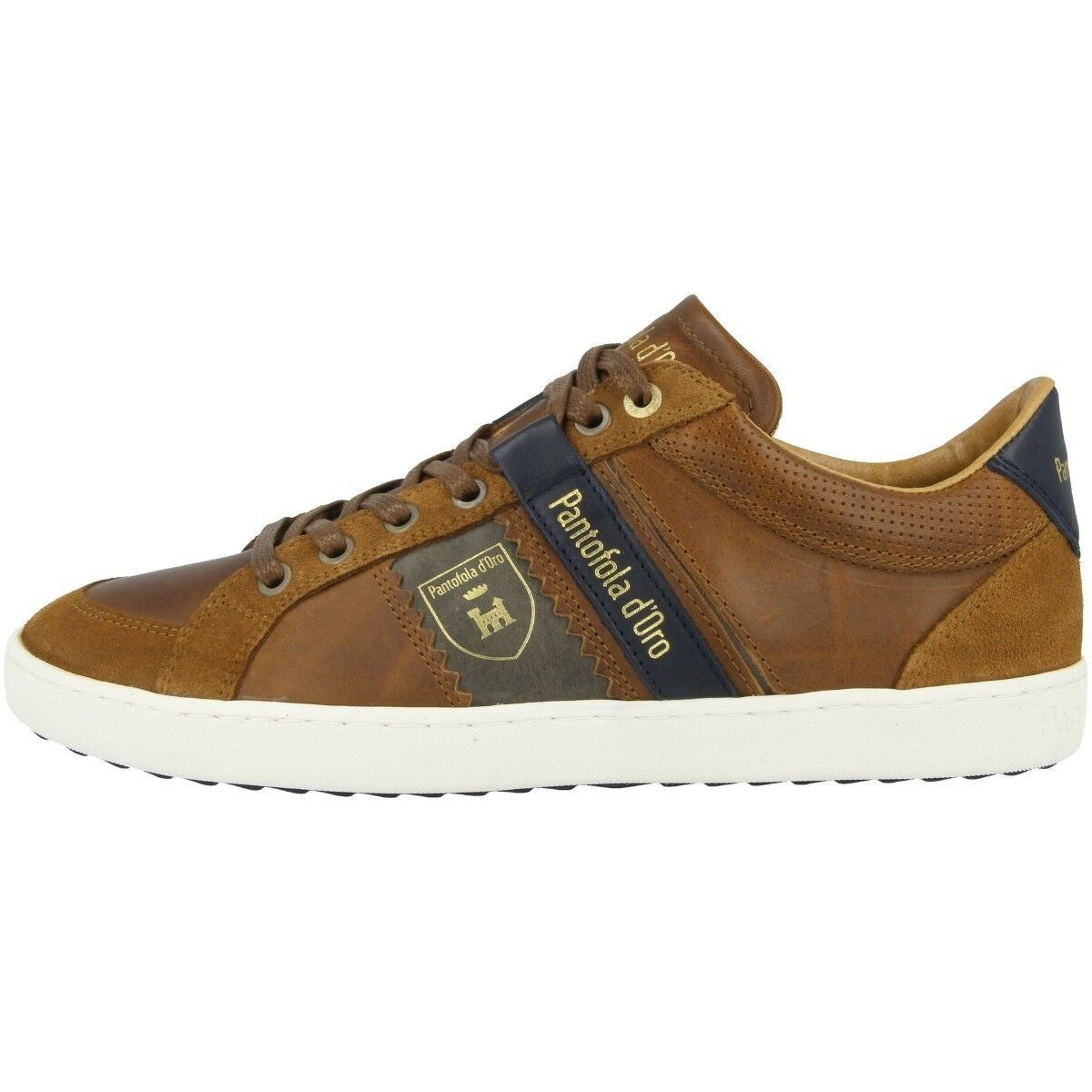 Pantofola d Oro Savio Uomo Low Pesaro Piceno Schuhe Sneaker shell 10183041.JCU