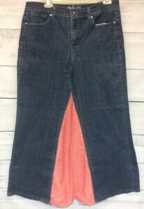 Style-amp-Co-Jeans-Denim-Skirt-Size-14-Tummy-Control-Modest-OOAK