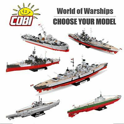 Cobi World Of Warships Wwii War Ships Choose Ebay