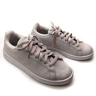 Adidas NEO women's size 6 Cloudfoam gray laced sneakers   eBay