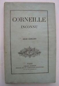 CORNEILLE-INCONNU-par-Jules-Levallois-1876