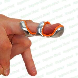 Mallet-Finger-Frog-Aluminium-Splint-DIP-Joint-Pain-Malleable-Support-Foam-Brace