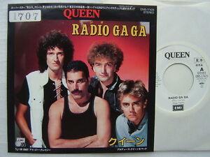 Promo White Label Queen Radio Ga Ga Japan 7inch Ebay