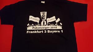 Pokalfinale T-Shirt für Fans Ultras Größe L Pokalsieger Frankfurt