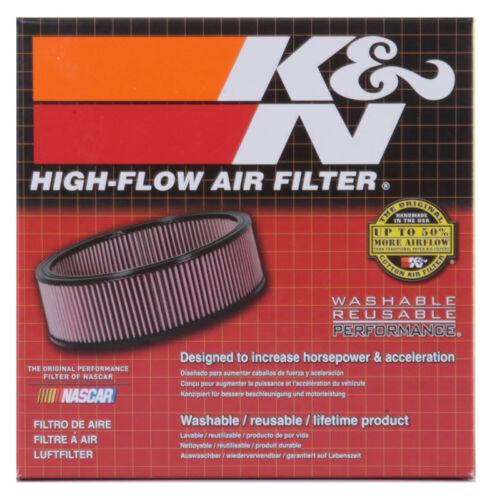 "5-1//2/""OD KN Uni RC-0650 K/&N Universal Chrome Air Filter 2-1//4/""O//S FLG 2-1//2/""H"