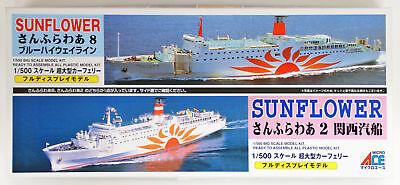 Arii 619018 Sun Flower Ferry Blue Highway Microace 1//500 Scale Kit Sunflower