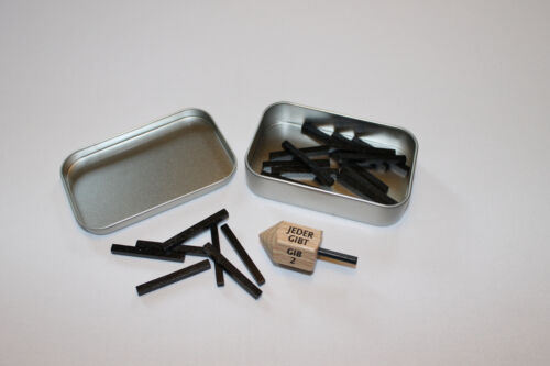 Kreisel Nimm-Gib-Spiel BxHxT 9,5x6x2cm NEU für Holzkreisel Brummkreisel