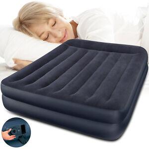 INTEX-Luftbett-mit-Pumpe-Gaestebett-Bett-Matratze-Luftmatratze-selbstaufblasend