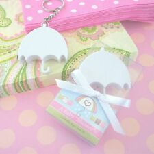 24 A Baby Shower Umbrella Keychain Measuring Tape Baby Shower Favors