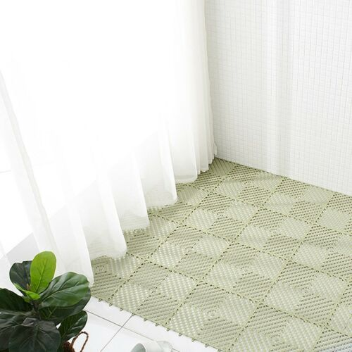 Pure Color Bath Tub Shower Mat Living Room Kitchen Toilet Floor Rug Non-slip 1PC